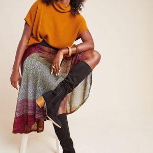 Anthropologie Cecilia Prado Abstract Midi Skirt
